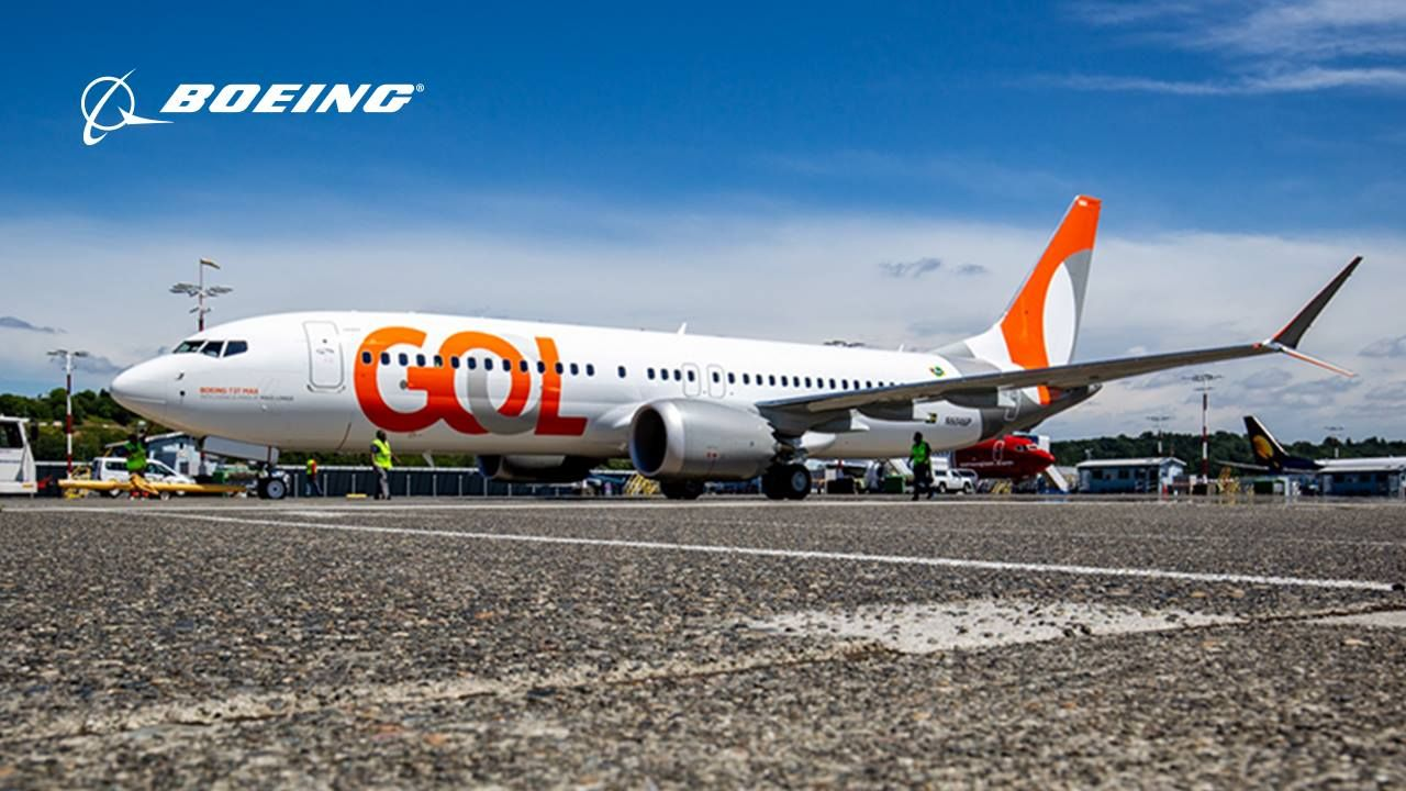 Gol Takes Delivery Of Its First Boeing 737 8 Max 8 Transportes