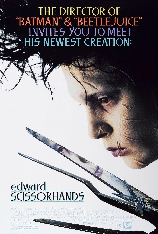 Edward Scissorhands Directed By Tim Burton Edward Scissorhands