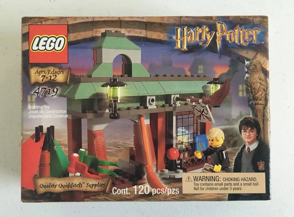 Lego New Harry Potter Quality Quidditch Supplies 4719