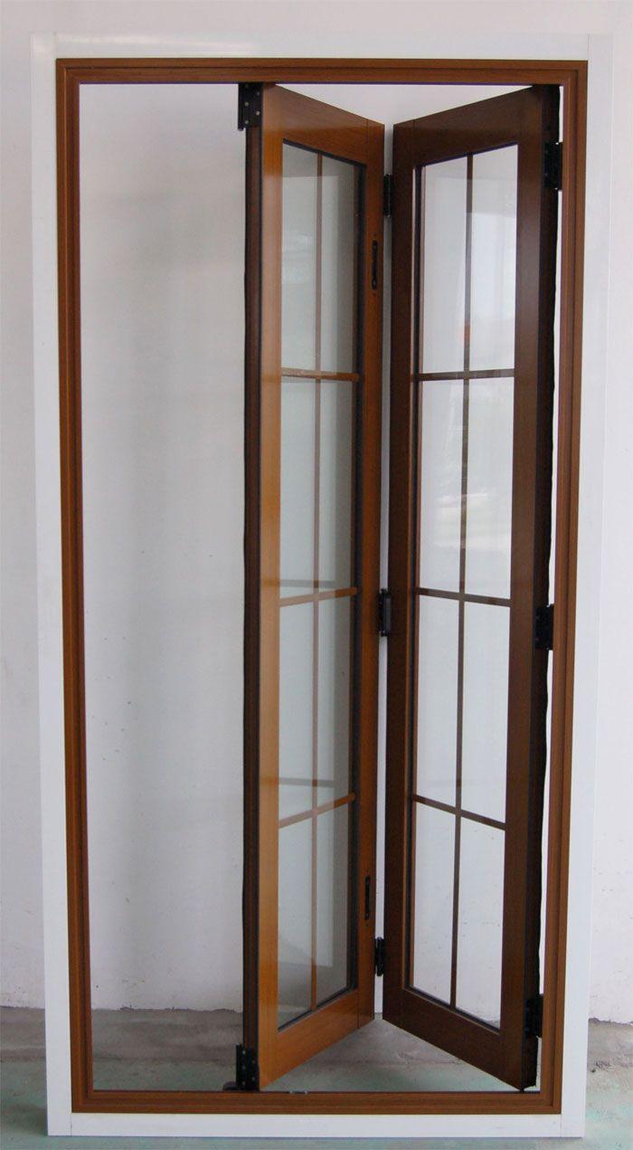 Accordian Doors Grain Folding Door Cs Ad002 China Aluminum Window Aluminum Door