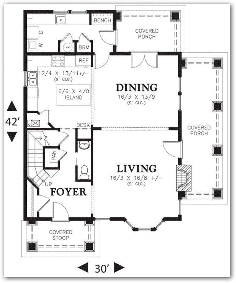 Plano de casa grande en 250 751 901 planos for Distribucion de una casa
