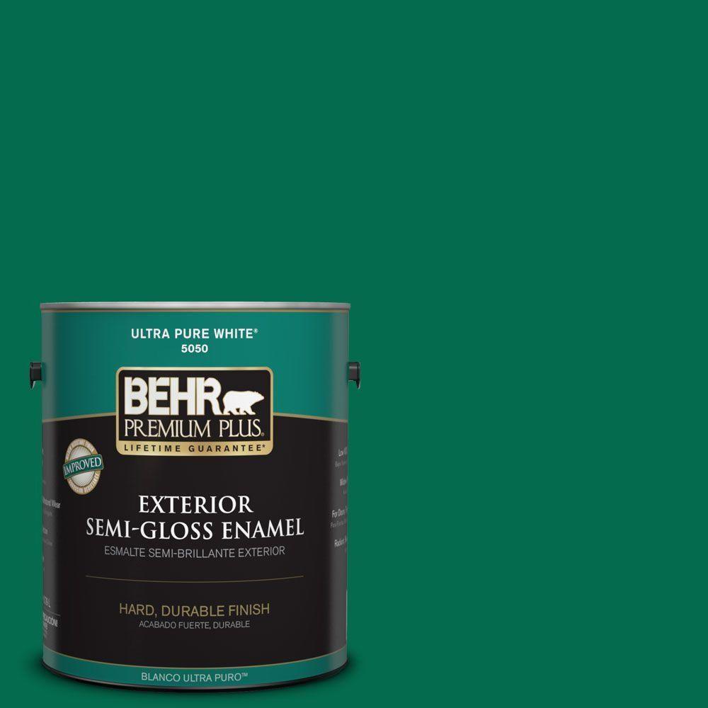BEHR Premium Plus 1-gal. #S-H-470 Precious Emerald