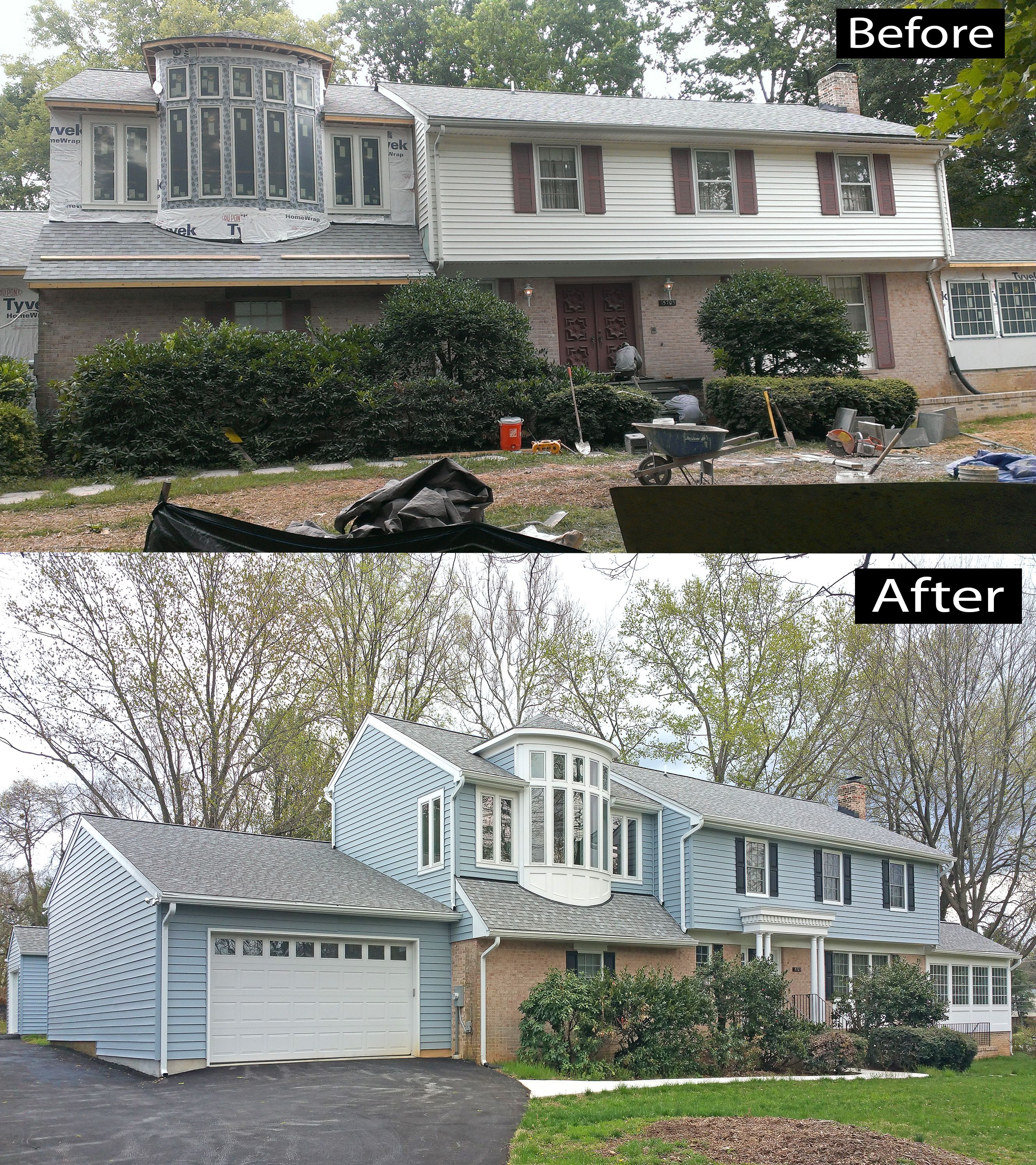 Install Pella Replacement And New Construction Windows And Doors Certainteed Cedarboard Insulated Siding Oxfo House Exterior Window Construction Vinyl Soffit