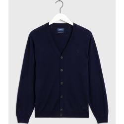 Photo of Gant Fine Merino Cardigan (Blau) GantGant