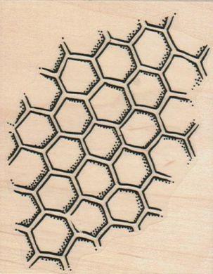 HoneyComb Pattern 3 3/4 x 2 3/4 | Zentangle Doodles