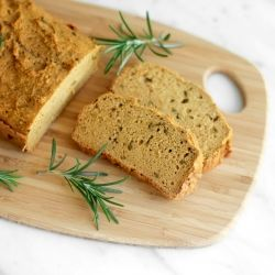 Sweet Potato and Rosemary Protein Bread