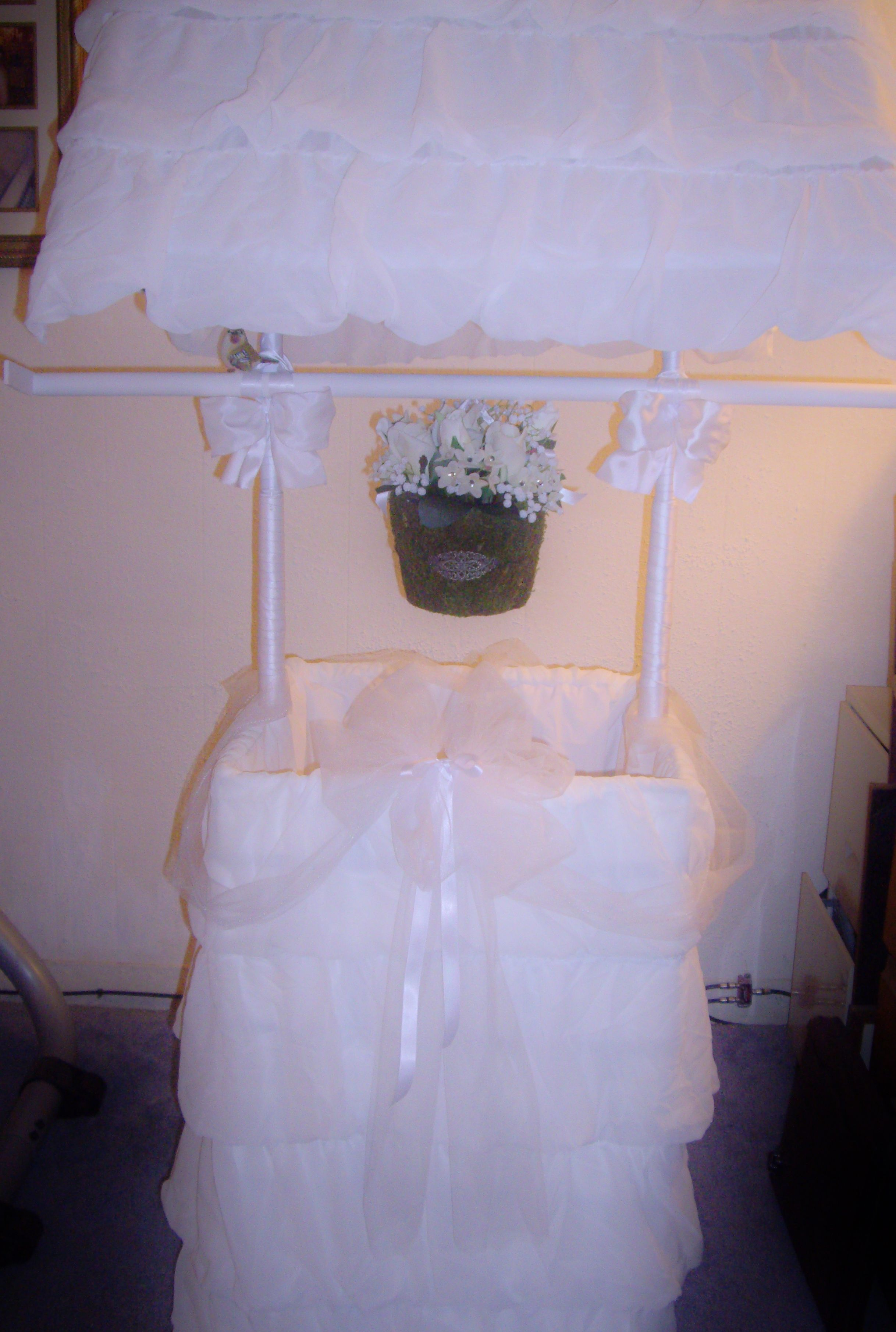 Bridal or Baby shower wishing well made by Rose