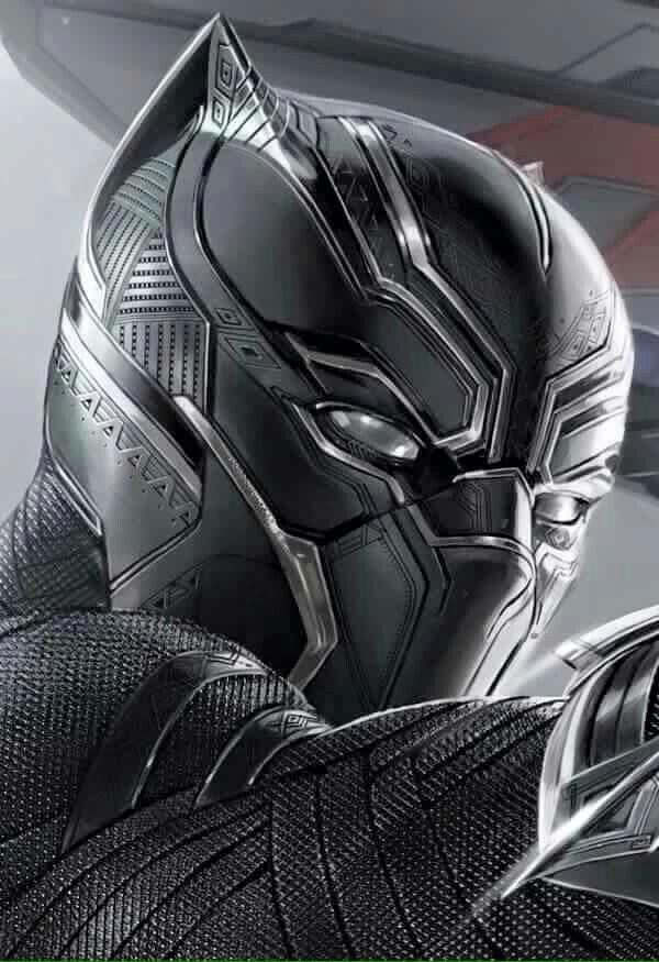 Black Panther Civil War mask