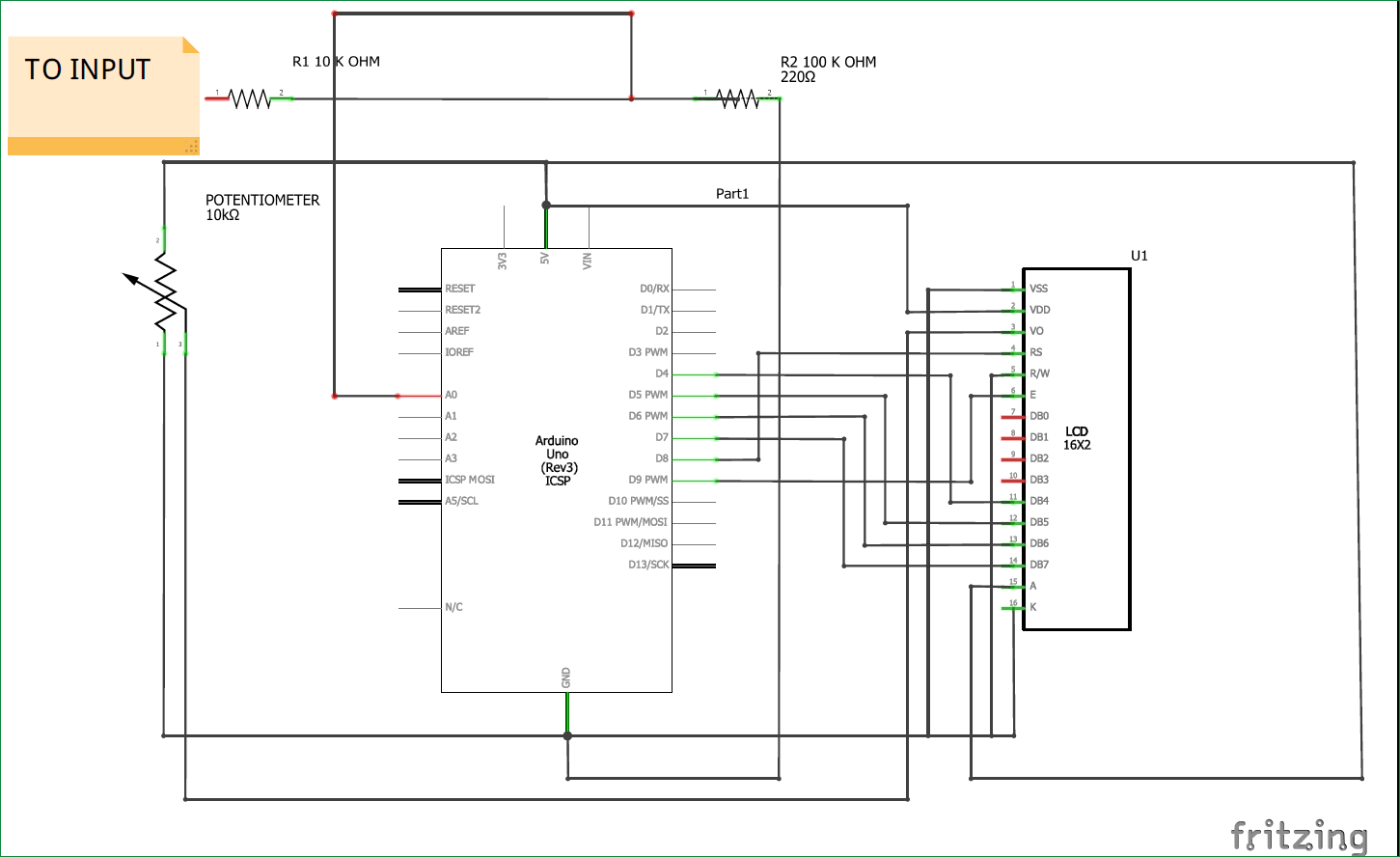 Pin By Circuit Digest On Electronic Diagrams Pinterest Voltage Divider Diagram Simple Arduino Voltmeter Project With