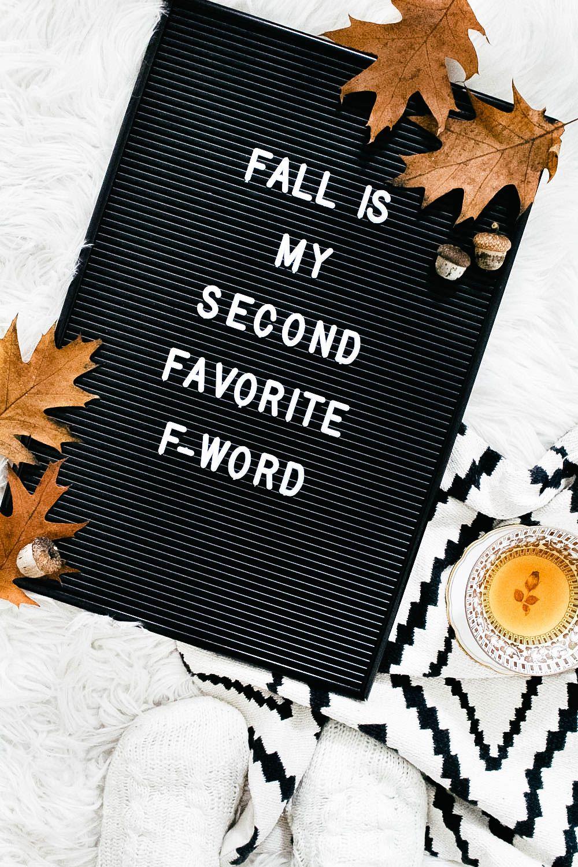 Letterboard Sprüche für den Herbst - provinzkindchen