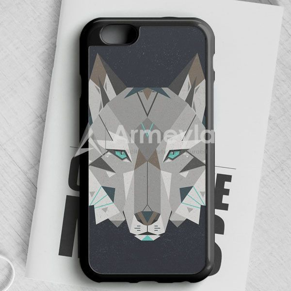 Wolf Head Typo iPhone 6/6S Case   armeyla.com