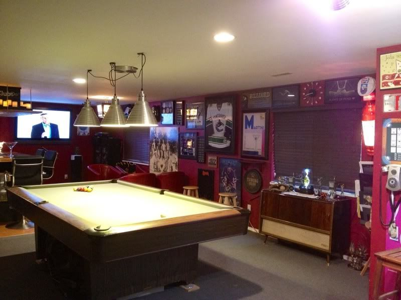 Man Cave Bar Games : Game rec room man cave sanctuaries pinterest