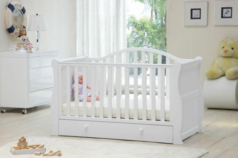 resultado de imagen de cunas para bebe de madera - Cunas Blancas