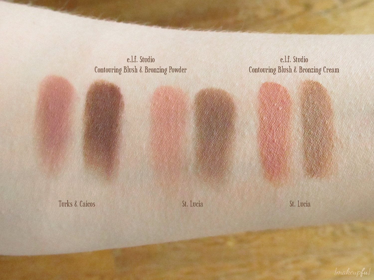 elf bronzer palette swatches - Google Search | Makeup Swatches ...