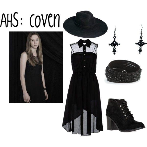 Dark Fashion Witch Gothic Ahs Horror Stories American