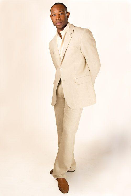 Custom Linen Monaco Suit | Beach wedding suits, Monaco and Beach ...