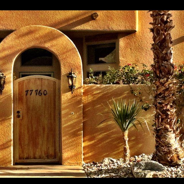 santa fe style in la quinta cove santa fe style decor santa fe style front courtyard pinterest