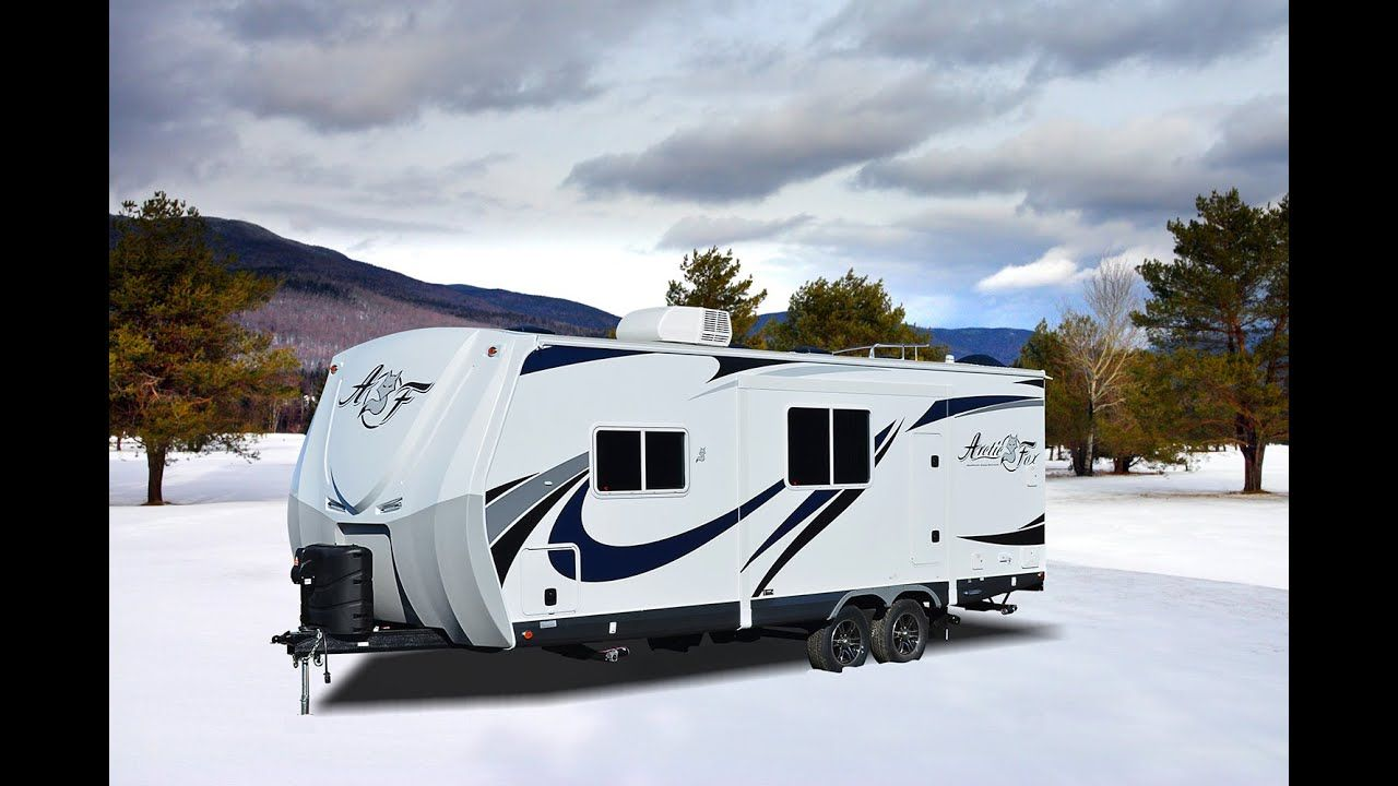 Quick Tour Of The New Arctic Fox 24j Travel Trailer Tiny Trailer