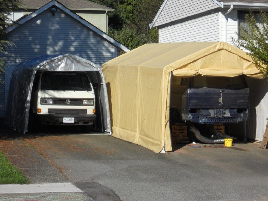Car Garage Tent With Quality Protection in 2020 | Tent ...