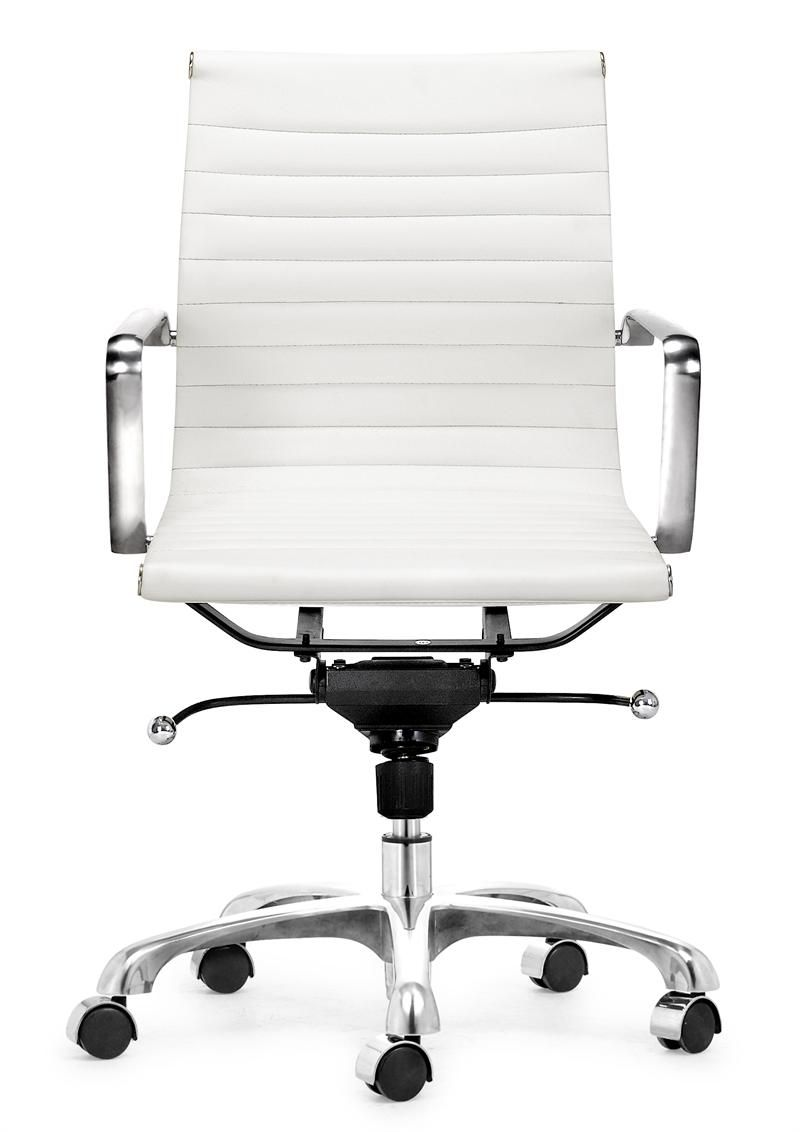 Lider Office Chair White Home Office Chairs White Leather