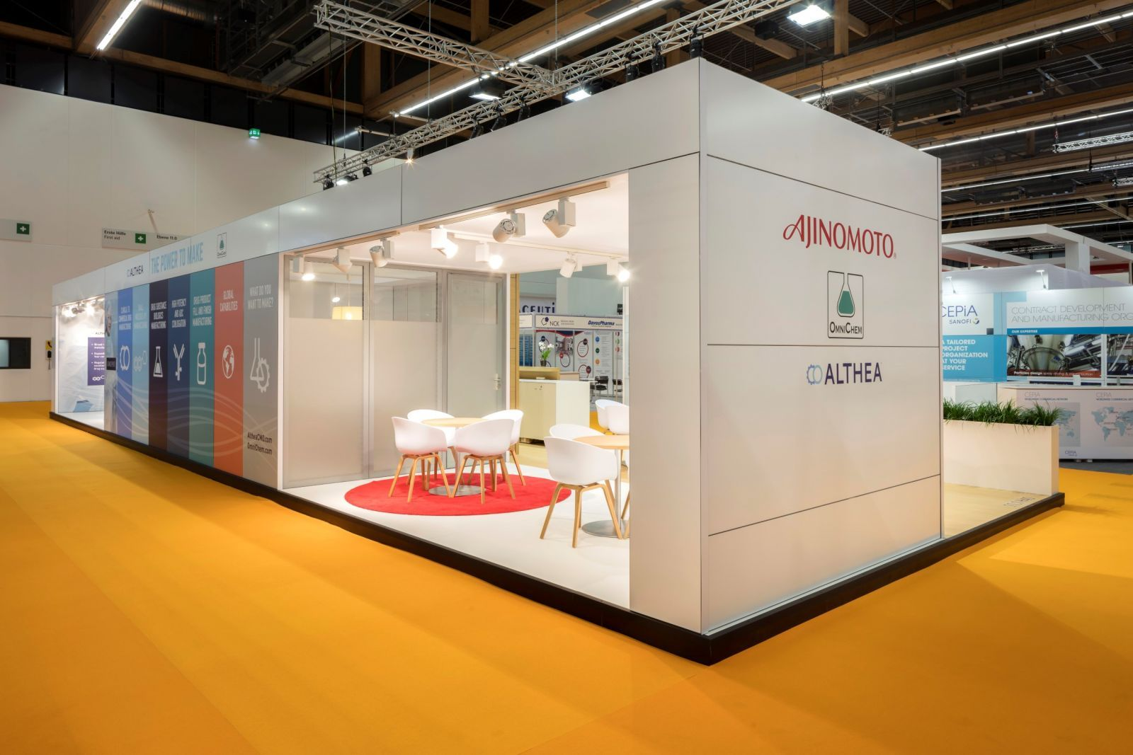 Straight Panel Trade Show Booth Design Ideas | Exhibit ...