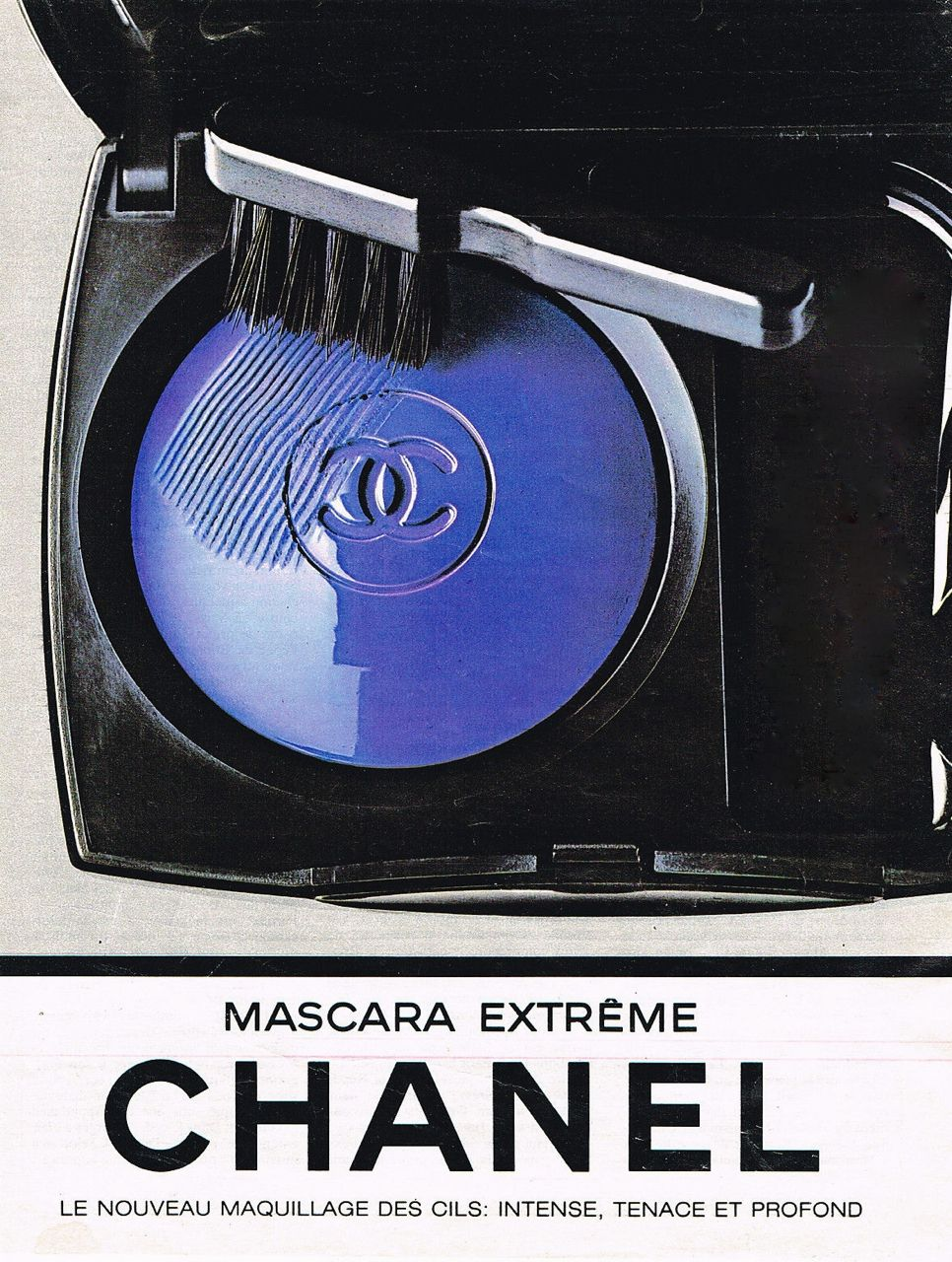 Chanel Mascara Ad, 1984