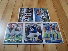 2013 Topps (5) Card Lot DAVONE BESS ROBERT MATHIS & 3 Team Leaders Cards Mint