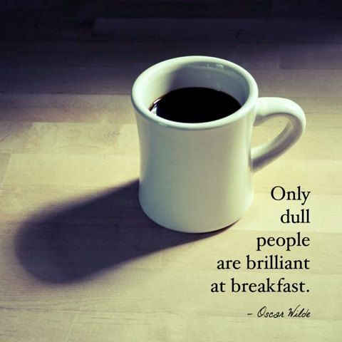 coffee photography print oscar wilde quote by theartofobservation
