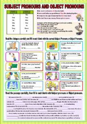 Subject And Object Pronouns Worksheet Free Printable Worksheets Made as well Subject Object Pronouns Worksheet Subject Object Grammar Exercises together with Subject And Object Pronouns Worksheets   Teachers Pay Teachers as well Subject and Object Pronouns also Free Subject And Object Pronoun Worksheets Pronouns Fifth G Subject likewise  likewise Subject and Object Pronouns further English Subject And Object Pronoun Worksheets   Learning S le for further English Exercises  Subject  verb  object   Favii   Object pronouns together with Parts Sch Worksheets   Pronoun Worksheets together with  in addition Basic Pronoun Activities Pronouns Free Language Stuff Personal together with subjective and objective case pronouns worksheets besides Subject and object pronouns worksheet   Free ESL printable together with Subject and Object Pronouns in addition Subject and Object Pronouns. on pronouns subject and object worksheets