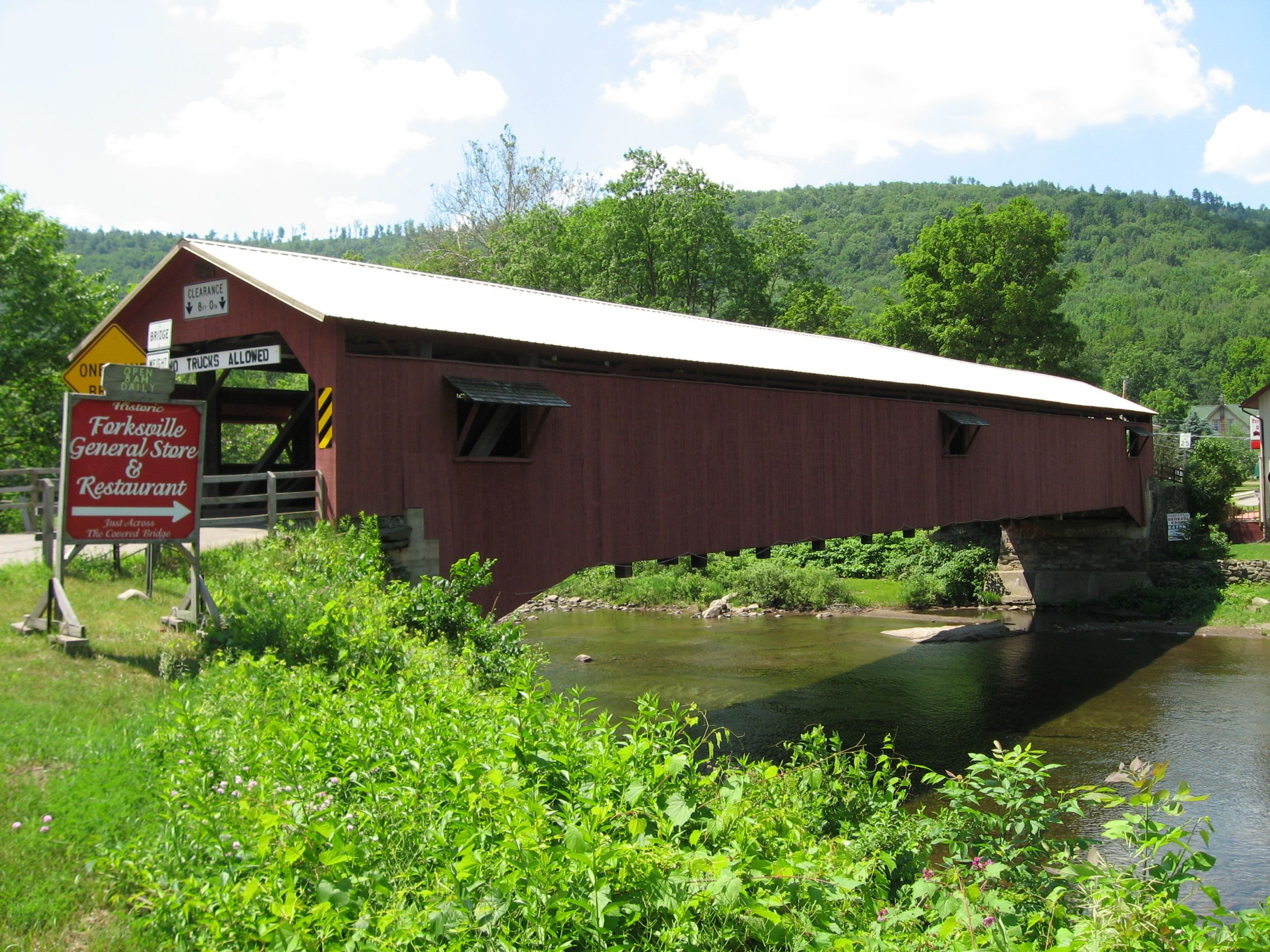 Forksville Covered Bridge Forksville Pa Covered Bridges