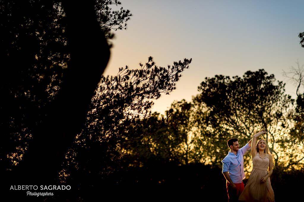 Sesión de #Preboda en la #Playa. Fotos de preboda al sol de Santa Pola.