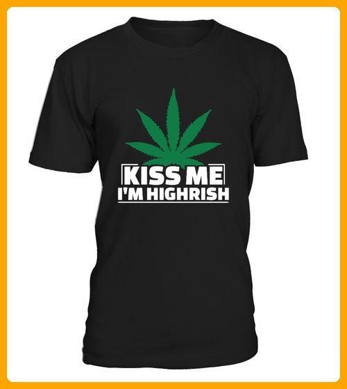 Kiss Me Im Highrish - Karneval fasching shirts (*Partner-Link)