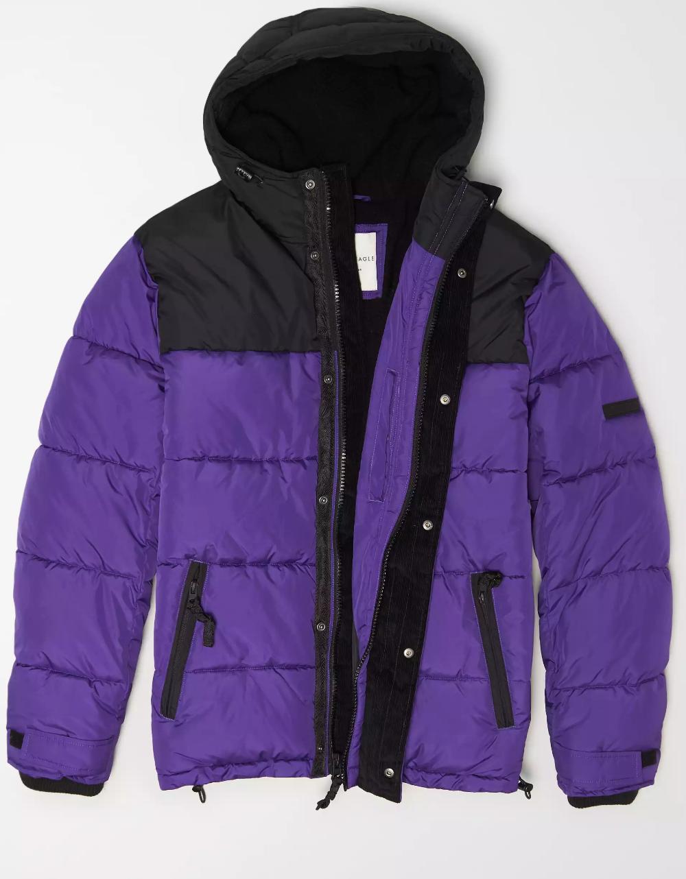 Ae Elevated Puffer Jacket Moda Femenina Moda Femenina [ 1282 x 1000 Pixel ]