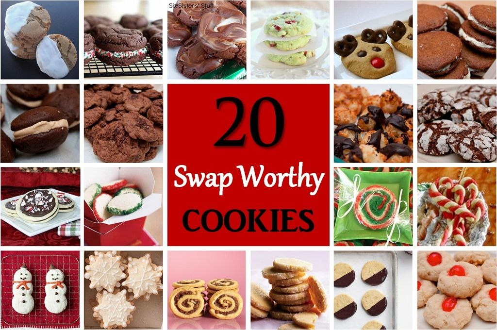 20 Cookie Swap Recipes Yummy Cookie Recipes Cookies Christmas