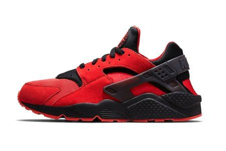 official photos ec1c2 2ab4f ... promo code for the nike air trainer huarache premium in challenge red  black shelf life had