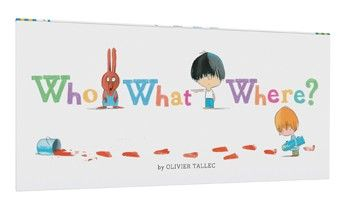 In this charming follow-up to 2015's hit Who Done It?, each page asks the reader a question about the lineup of characters featured on the spread. Sharp eyes and keen observation are necessary. There's only one right answer, and it's not always easy! Kids will love learning early concepts like expressions and positions as a natural consequence of their hunt for clues in the details of the lineup. It's a book for all audiences: the seek-and-find call to action of every page makes Who What…