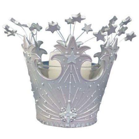 4 Inch Wizard Of Oz Good Witch Glinda's Crown Tealight Holder