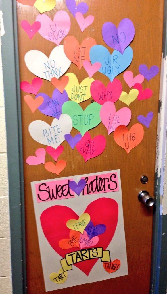 Valentines Day Dorm Door Decoration Things I 39 Ve Made