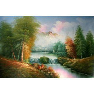 Real Handmade Landscape Oil Painting Oil Painting Landscape Oil Painting Painting
