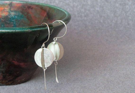 Orecchini in argento pendente orecchini orecchini unici di Juli711