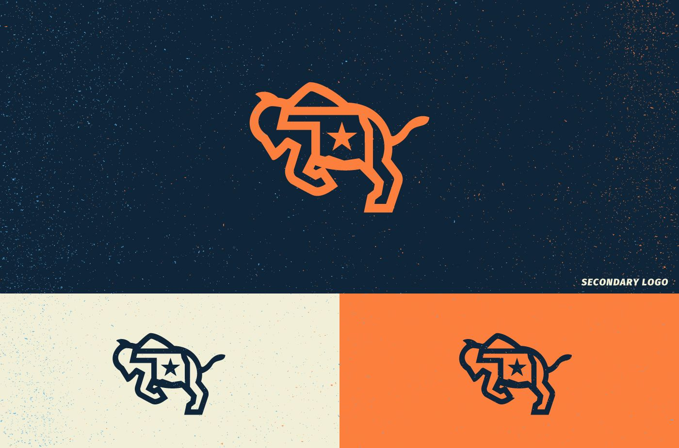 Concept for a new Oklahoma City Thunder brand identity.