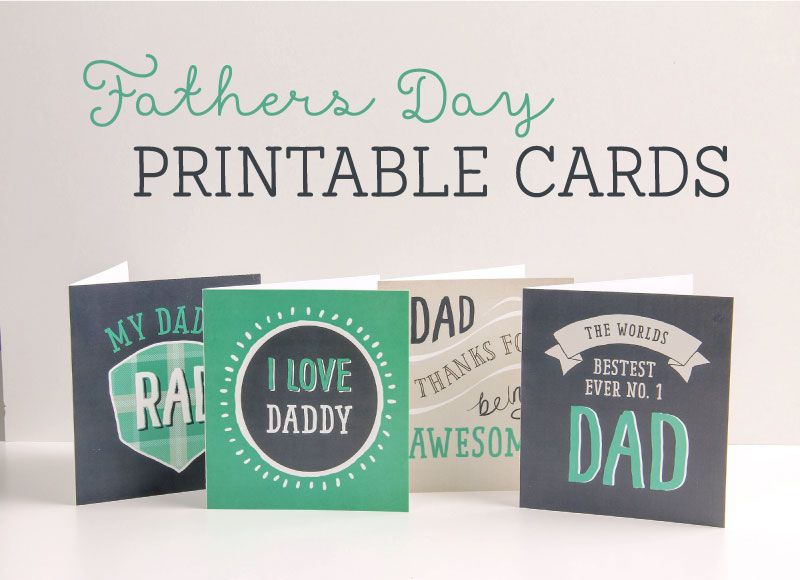 Free Card Making Ideas And Printables Part - 19: FREE Printable Fathers Day Cards