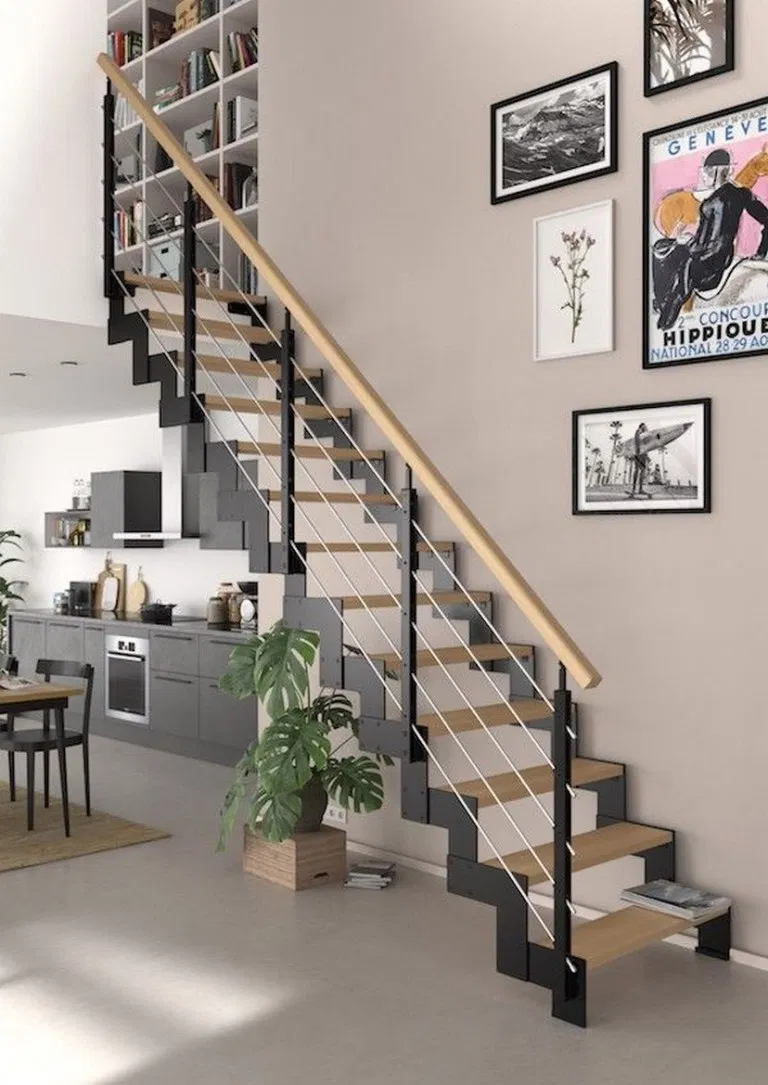 22 Brilliant Ways To Decorate Your Stairs 9 St
