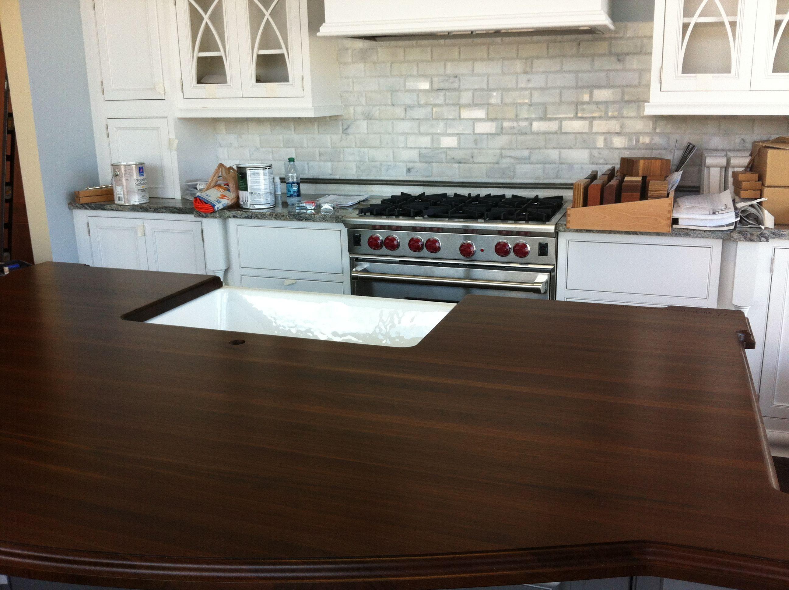 wood countertops Google Search Kitchen design
