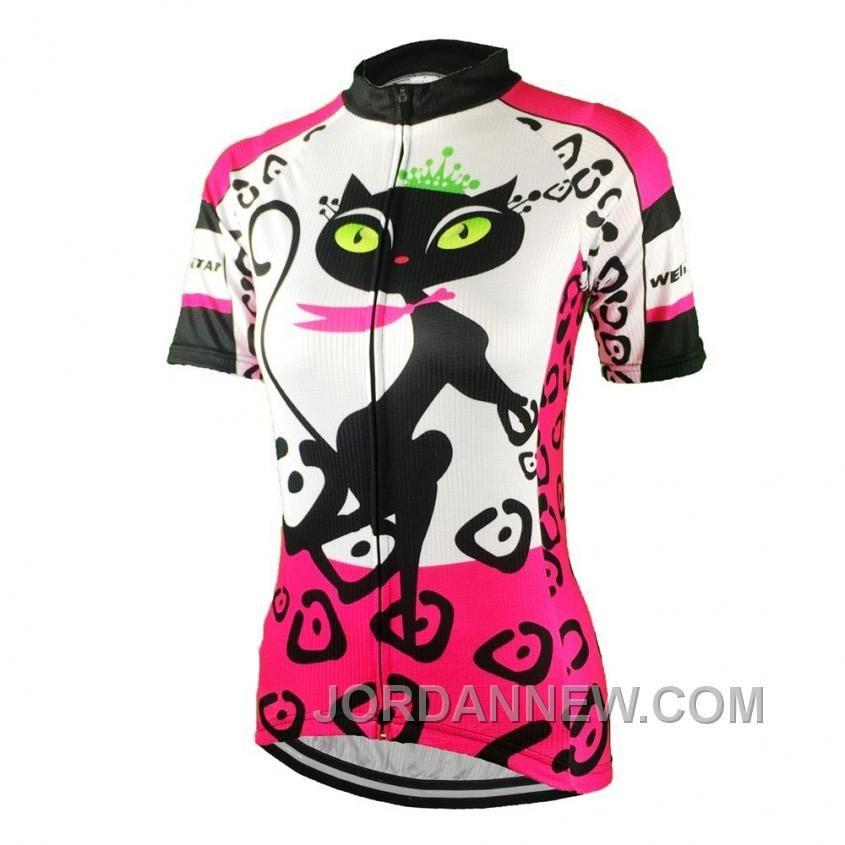 fbbbda8ef Women s Cat Cycling Clothing Short Sleeve Cycling Jersey Or Bike Shorts  Sports Top Bike Shirts Girls Wear Jersey