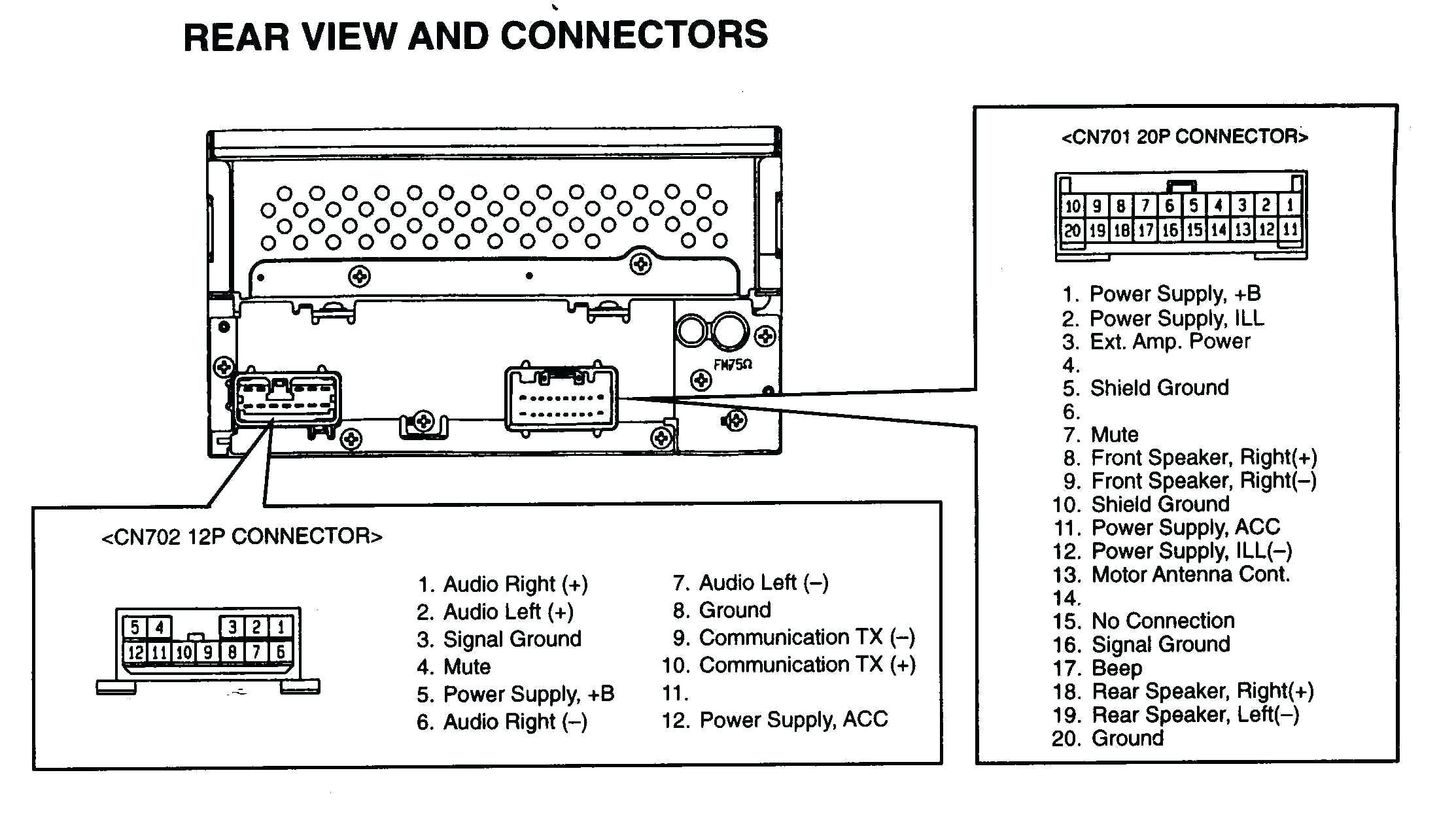 2010 Toyota Corolla Speaker Wiring Diagram Diy Wiring Diagrams Throughout 2009 Toyota Corolla Wiring Diagram Electrical Wiring Diagram Car Stereo Diagram