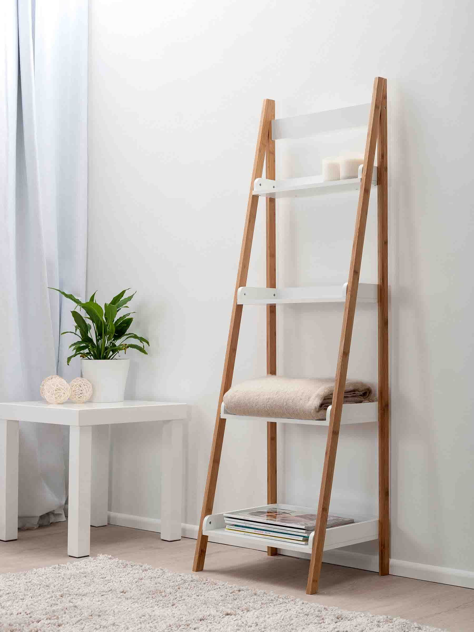 Mockas Maya Ladder Shelf Is A Simple But Stylish Way