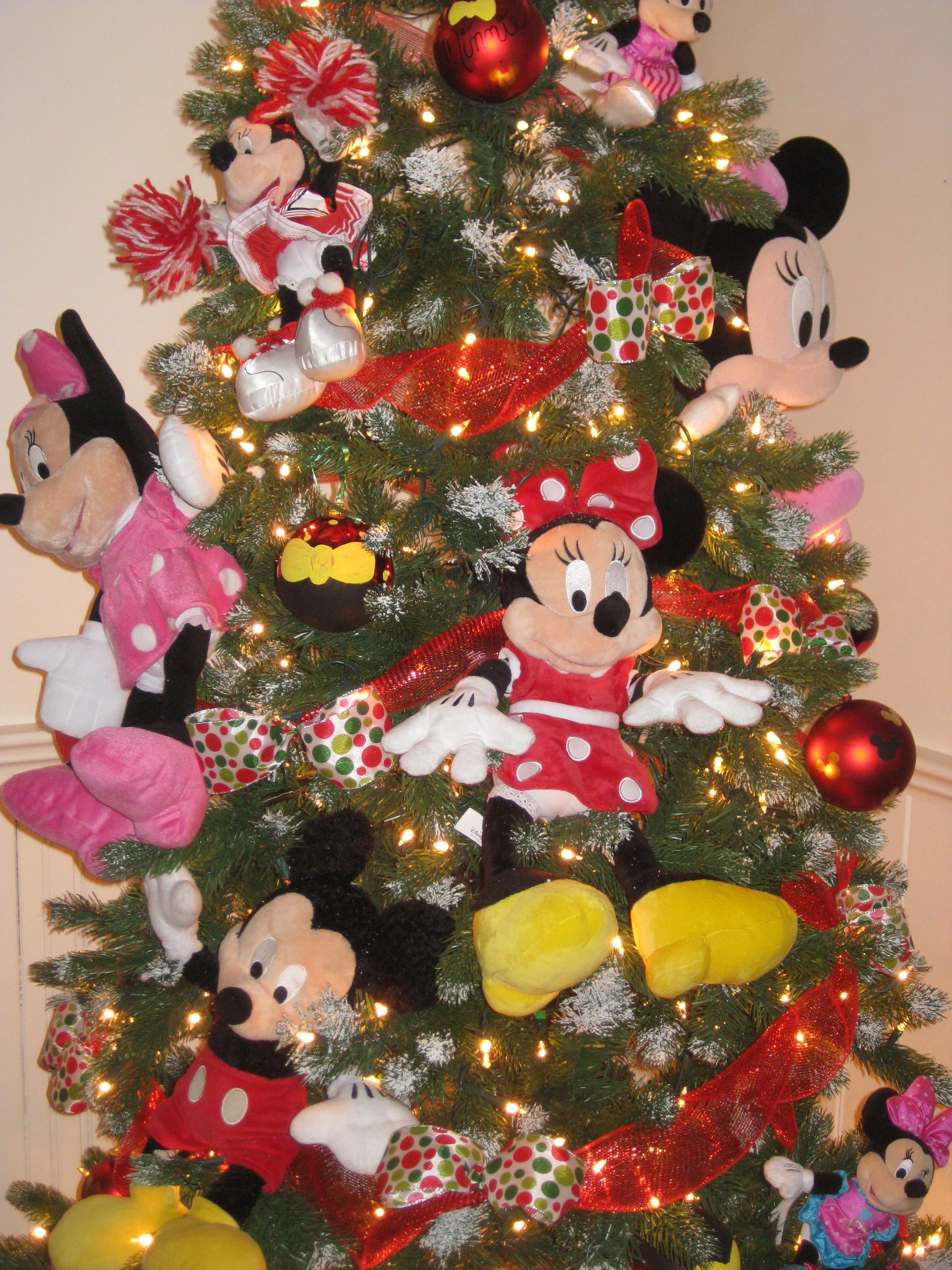 Minnie And Mickey Mouse Christmas Tree For My Kids This