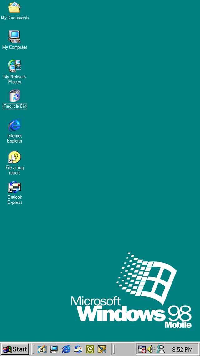 Windows 98 Wallpaper For IPhone 5
