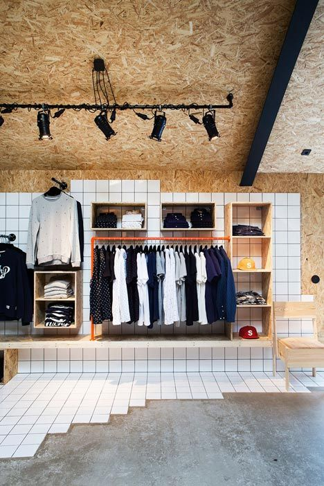 Creative retail store design using osb and tile chipboard creative retail store design using osb and tile ppazfo